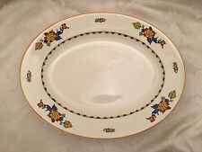 "Vintage J & G Meakin Platter 12"" X 9"" Large Oval Dish Plate Made In England"