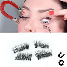 Magnetic EyeLashes False Eye Lashes Reusable Natural Extensions 3D FREE Box Gift