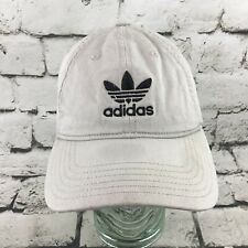 Adidas Trefoil Logo OS Hat Khaki Adjustable Strapback Baseball Cap Dad Hat Flaw