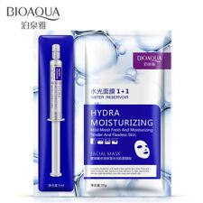 BIOAQUA Face Mask Set Hyaluronic Acid Moisturizing Essence + Facial Mask Sheet