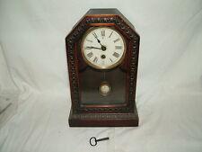working old vintage mantel clock