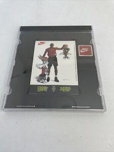 NIKE MICHEAL JORDAN 1993 SPACE JAM PROMO STICKERS - Bugs Marvin SEALED