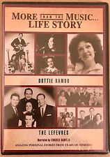 Dottie Rambo / The Lefevres Life Story DVD  Southern Gospel Music Rambos