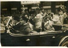 """La REINE de HOLLANDE en FRANCE 1931"" Photo originale G. DEVRED (Agce ROL)"