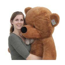 "Joyfay Teddy Bear Large Plush Toy Giant 63"" 160cm Dark Brown Valentines Gift"