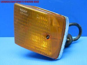 79-86 PORSCHE 928 FRONT LEFT DRIVER SIDE TURN SIGNAL LIGHT LENS ASSEMBLY OEM