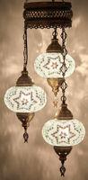 Mosaik Hängelampe Orientalische Deckenlampe Unikat Mehrfarbige Türkisch Lampe