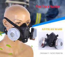 Anti-dust Paint Spray Silicone respirator Half face Facepiece pesticide gas mask