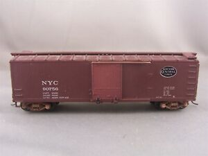 Walthers - New York Central - 40' Double Sheathed Wood Box Car # 90756 w/Kadees