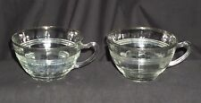 2 Hocking RING CRYSTAL w/SILVER BAND *CUPS*ONLY**
