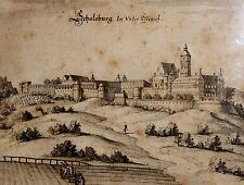 Originaldrucke (bis 1800) mit Landschafts-Motiv und Holzschnitt-Technik
