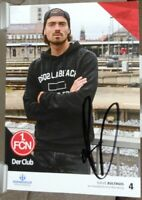 1.FC Nürnberg + Handsignierte Autogrammkarte + Dave Bulthuis /12