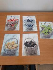 IKEA kitchen Picture Fruit Postcards X 5  ART Designs