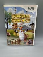 Chicken Shoot (Nintendo Wii, 2007) manual included