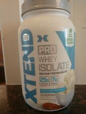 Scivation XTEND pro whey ISOLATE 100% whey Protein Vanilla Ice ,read discription