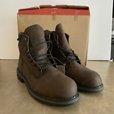 New listing Red Wing Mens DYNAFORCE 6-INCH Hiking Boots Dark Brown 1206 Size 13 D Waterproof