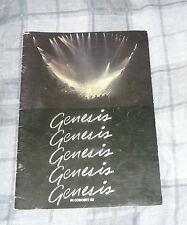 Genesis Uk Tour Programme 1982