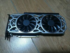 NOT WORKING EVGA GTX 1080 Ti SC211GB Graphic card. not recognize