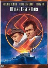 Where Eagles Dare (DVD, 2005) Very Good With Free Shipping