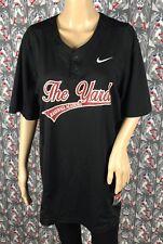 Nike Dri-Fit The Yard Baseball Academy Game Black Top Size Medium 578552-010
