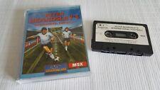 MSX Game - Peter Beardsley's International Football