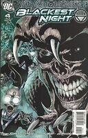 Blackest Night Comic 4 Cover A First Print 2009 Geoff Johns Ivan Reis Albert DC