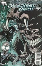 Blackest Night Comic Issue 4 Modern Age First Print 2009 Geoff Johns Reis Albert