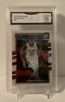 2017-18 Donruss Optic Anthony Davis #91 GMA 10 Gem Mint Pelicans Lakers