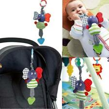 Baby Music Elephant Rattle Infant Soft Hanging Doll Toys Newborn Pram Bell Decor