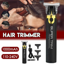 Electric T-outliner Cordless Trimmer Hair Clipper  Barber Shave Rechargable L
