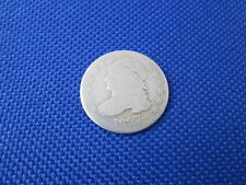 1827 U.S CAPPED BUST 10 CENT DIME SILVER COIN