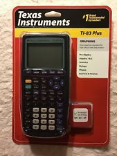 BrandNew Sealed Texas Instruments TI-83 Plus Graphing Calculator