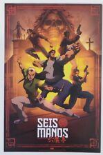 Sdcc Comic Con 2019 Handout Viz Media Seis Manos Poster