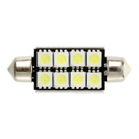 2 pcs Canbus Festoon 8 SMD LED 211 C5W Festoon Lamp 43 mm N5W3