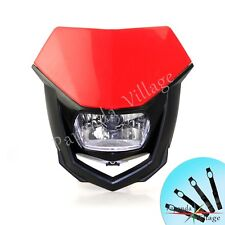 Dirtbike Streetfighter Headlight Head Light Lamp Fairing For Honda XR 250 R XR