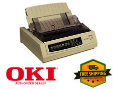 NEW IN BOX - OKI Data 62411601 Microline 320T 9-Pin Turbo Dot Matrix Printer