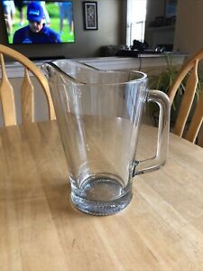 Libbey Glass Pitcher Versatile Design Serves Any Drink Durable 60 Ounce