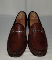 2bc8f808548 ALLEN EDMONDS Men s Brown Leather Loafers Size 10.5