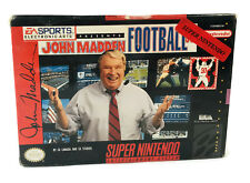 John Madden Football '93 (Super Nintendo Entertainment System SNES) NEW Sealed