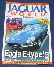 JAGUAR  WORLD MONTHLY JUNE 2002 - EAGLE E-TYPE!/X-TYPE 2.0 LITRE: FIRST DRIVE