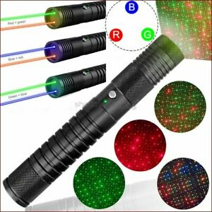 GBQ5 Two Colors Visible 532nm Green Laser Pen&450nm Blue Laser Pointer 4 Model