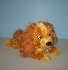 "12"" Disney World Lady and the Tramp ""Lady"" Cocker Spaniel Puppy Dog Bean Plush"