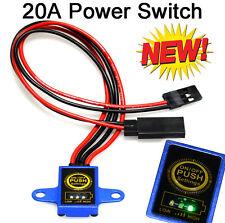 Heli Digital Ein/Aus Schalter max. 20A mit LED Spannungsanzeige, Power switch