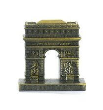 Arc de Triomphe French Statue, Metal Souvenir from Online Paris Gift Shop