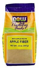 NOW Foods APPLE FIBER with Apple Pectin 12 oz