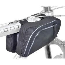 Author Fahrrad Tasche A-R281 Rahmentasche vorn doppelt universal reflex schwarz