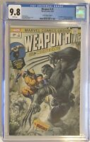 WEAPON H #1 Clayton Crain Variant CGC 9.8 Incredible Hulk Wolverine Marvel Comic