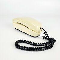 Radio Shack Vintage Trimline Phone Beige Wall Desk Mount Touchtone ET-303