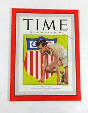 TIME Magazine Mel Patton (Aug 2, 1948) Sports Olympics 1940s Ads