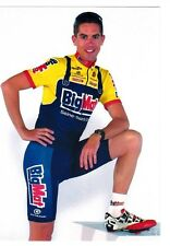 CYCLISME carte cycliste LOIC LAMOULLER équipe BIG MAT AUBER 93